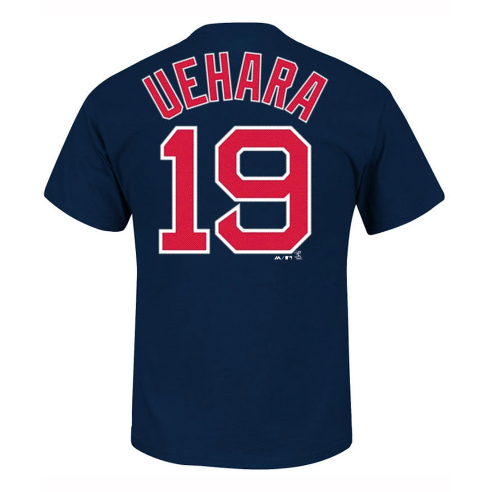 BOSTON RED SOX Men's Uehara #19 Name and Number Tee  - NAVY