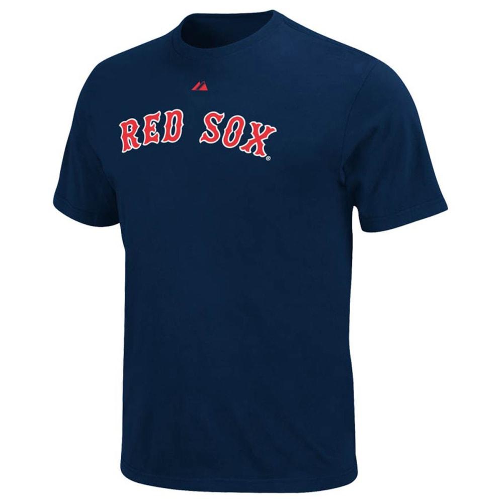 BOSTON RED SOX Men's Dustin Pedroia Tee - NAVY