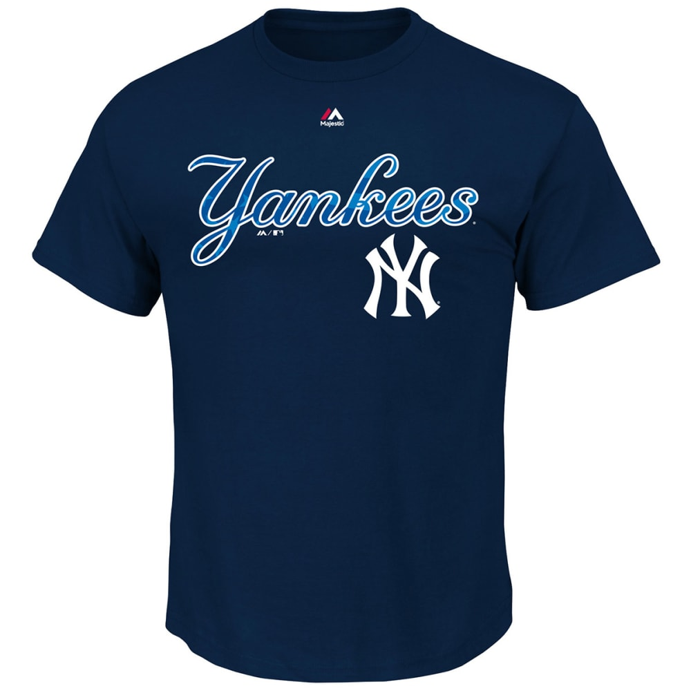 NEW YORK YANKEES Men's Proud Fan Stars And Stripes Tee - NAVY