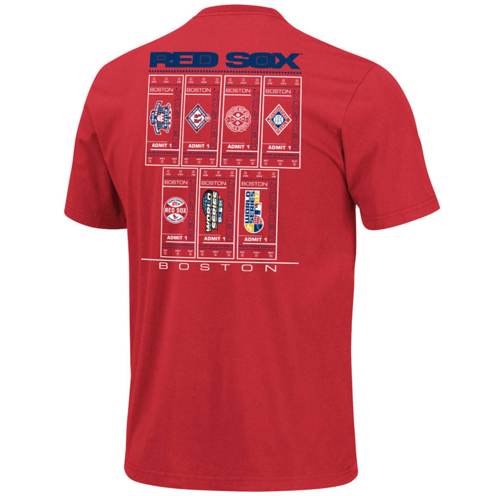 BOSTON RED SOX Cooperstown Tee  - RED