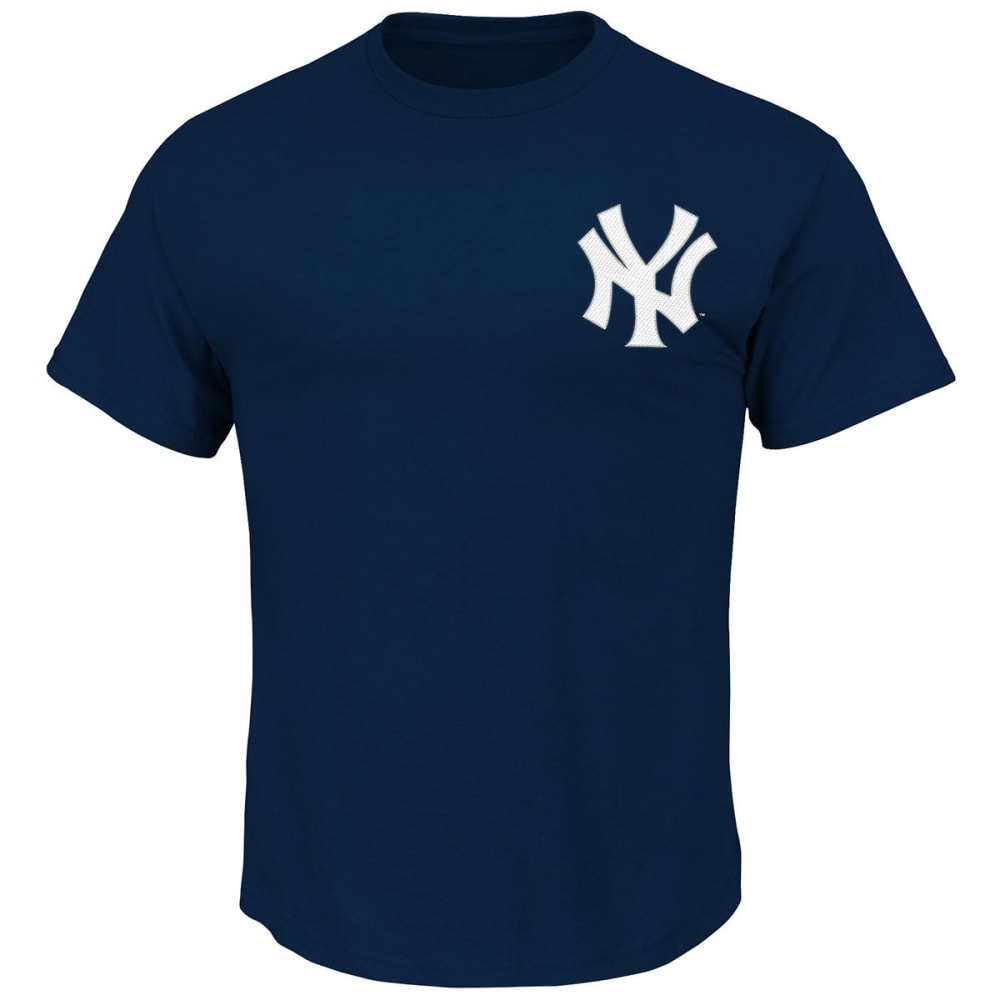 NEW YORK YANKEES Men's Bret Gardner #11 Tee - NAVY