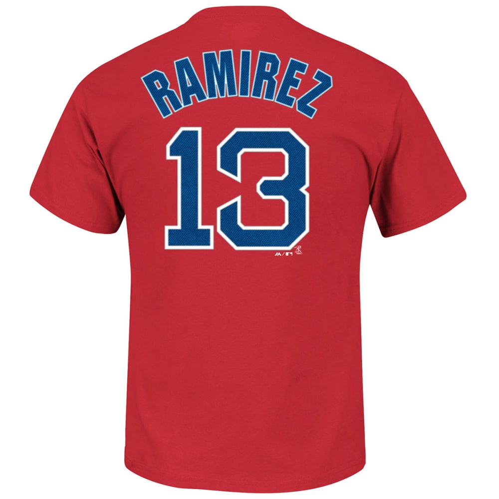 BOSTON RED SOX Men's Hanley Ramirez #13 Tee - RED