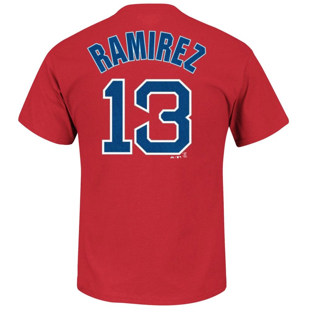 BOSTON RED SOX Men's Hanley Ramirez #13 Tee - RED