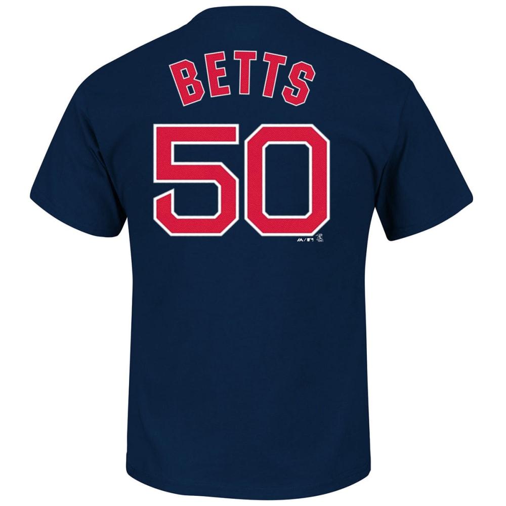 BOSTON RED SOX Men's Mookie Betts #50 Tee - NAVY