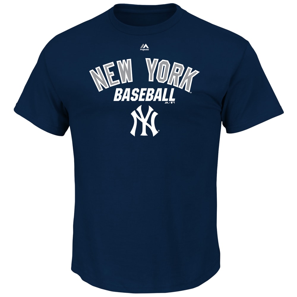 NEW YORK YANKEES Men's All of Destiny Short-Sleeve Tee - YANKS NAVY