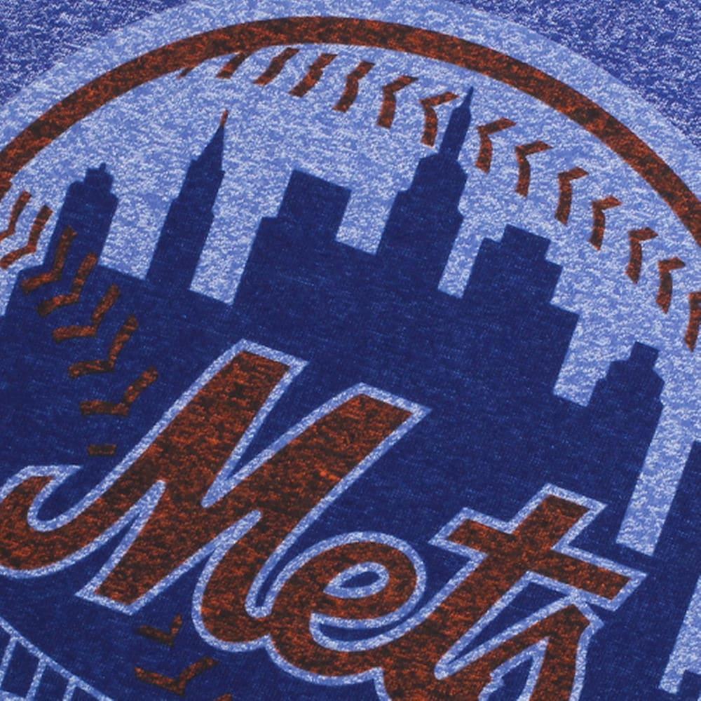 NIKE Men's New York Mets Marled Short-Sleeve Te - METS