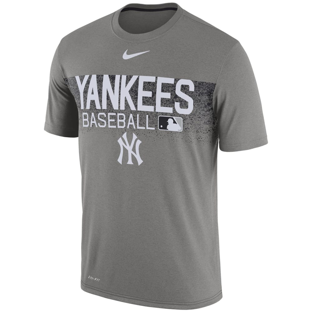 NIKE Men's New York Yankees Practice Short-Sleeve Tee - ASSORTED