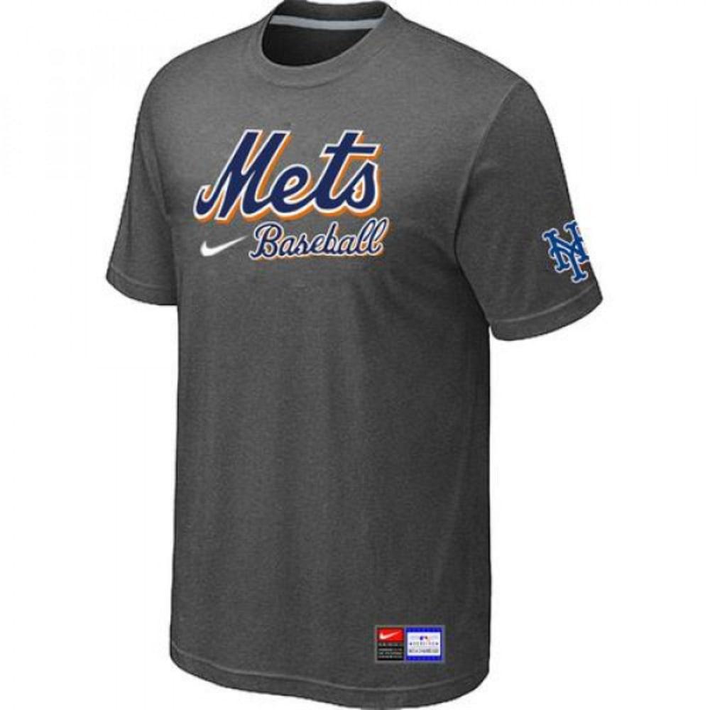 NIKE Men's New York Mets Practice Short-Sleeve Tee - ASSORTED