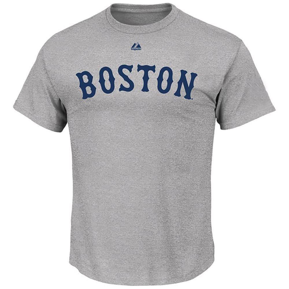 BOSTON RED SOX Men's Wordmark Steel Tee - STEEL