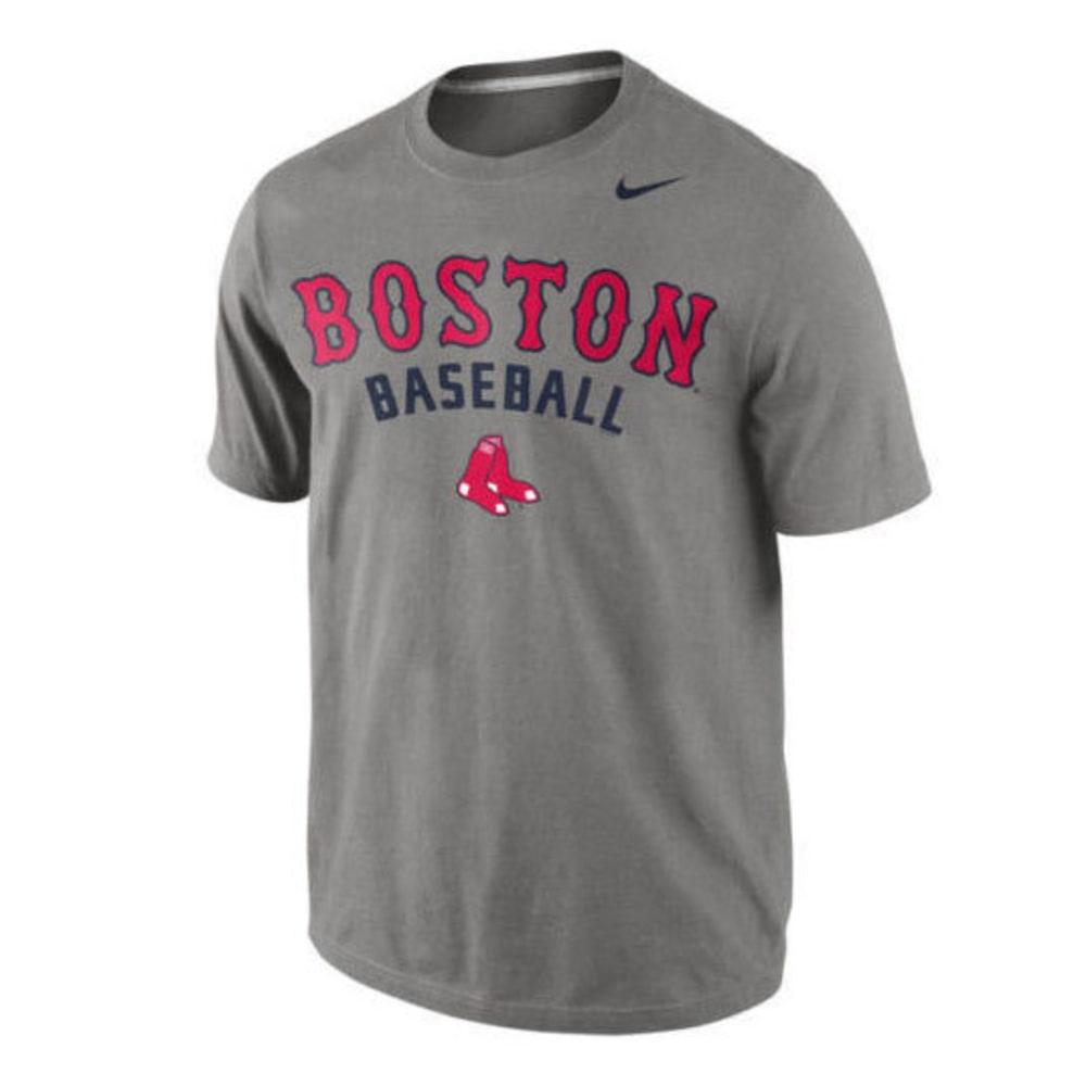 BOSTON RED SOX Men's Practice Away Short-Sleeve Tee - RED SOX