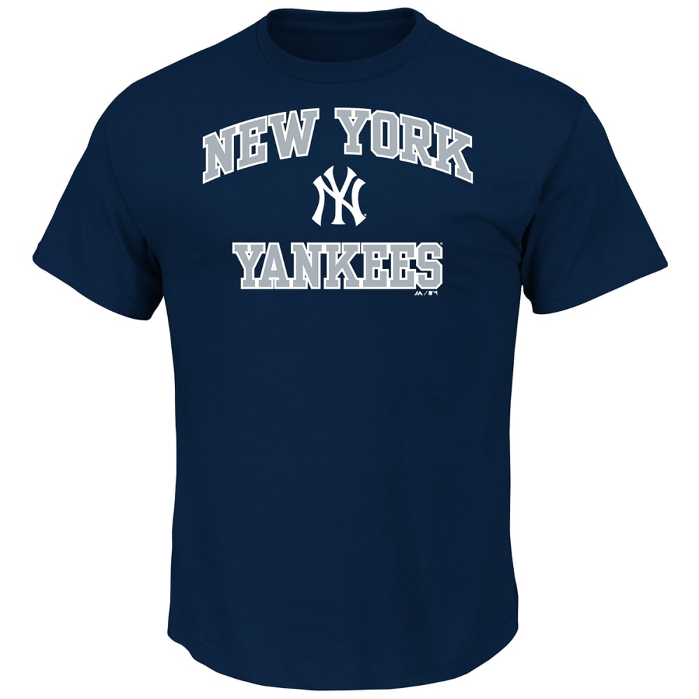 NEW YORK YANKEES Men's Heart and Soul Tee - NAVY