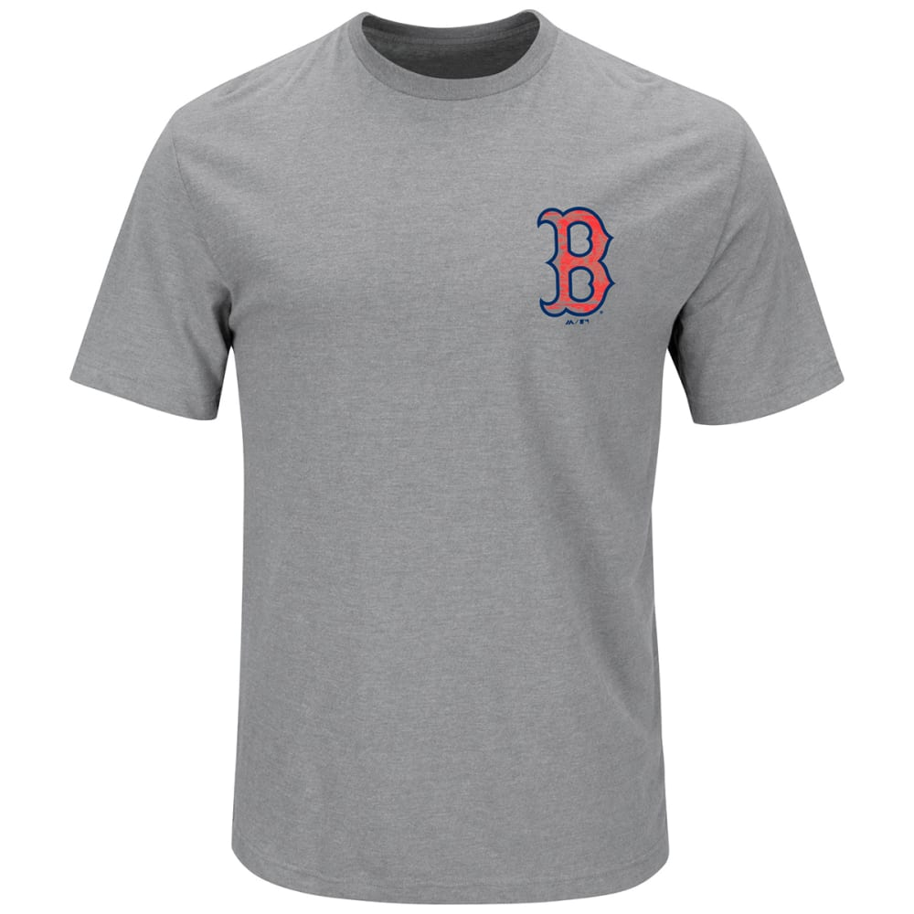BOSTON RED SOX Men's Not Without Struggle 2-Sided Tee - GREY