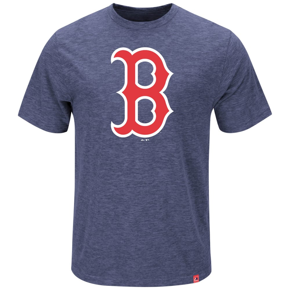 BOSTON RED SOX Men's Mental Metal Tee - NAVY