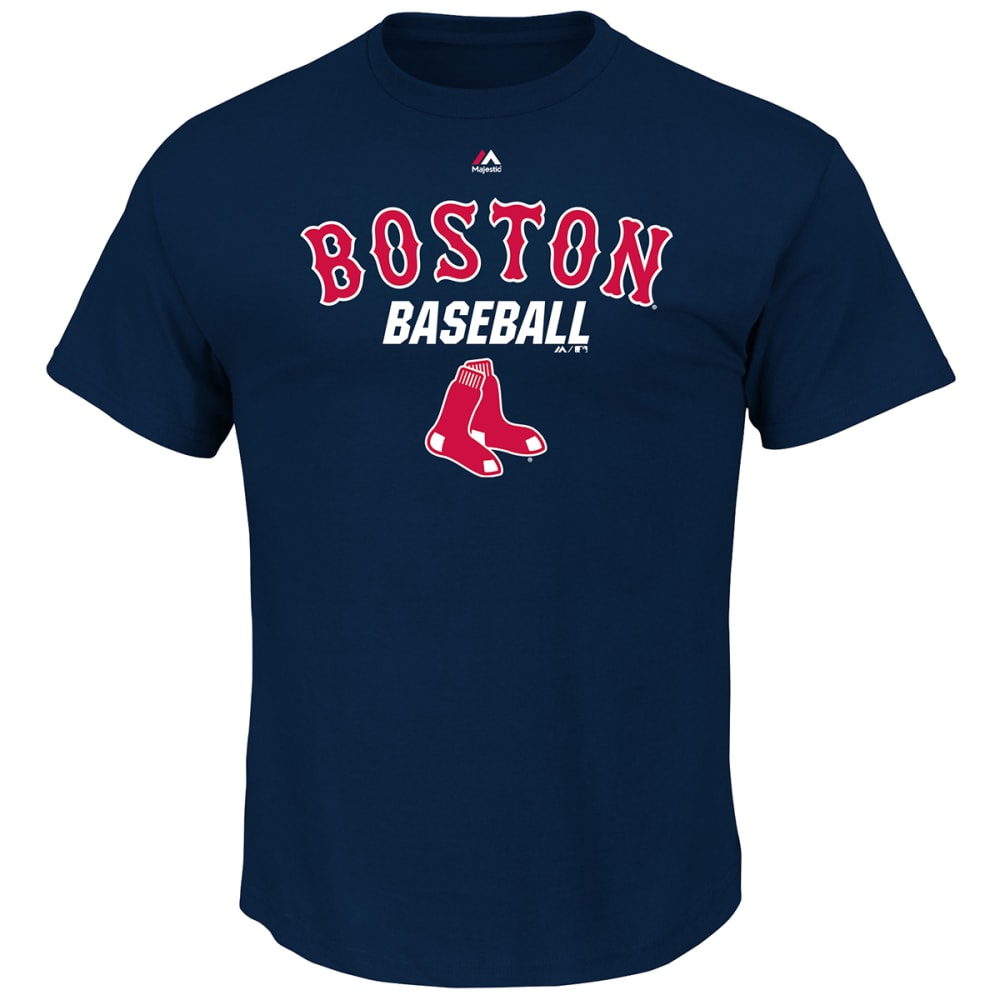 BOSTON RED SOX Men's All Of Destiny Short-Sleeve Tee - RED SOX