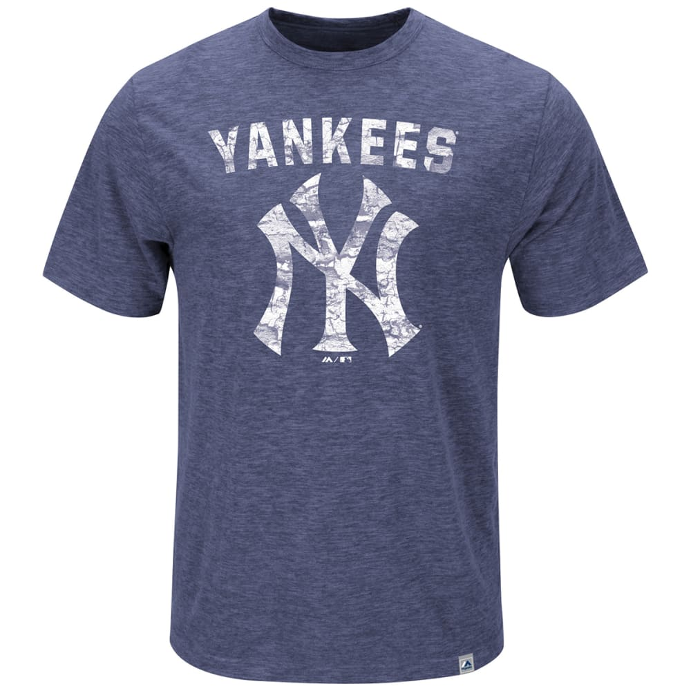 NEW YORK YANKEES Men's Hours and Hours Heathered Slub Tee - YANKEES