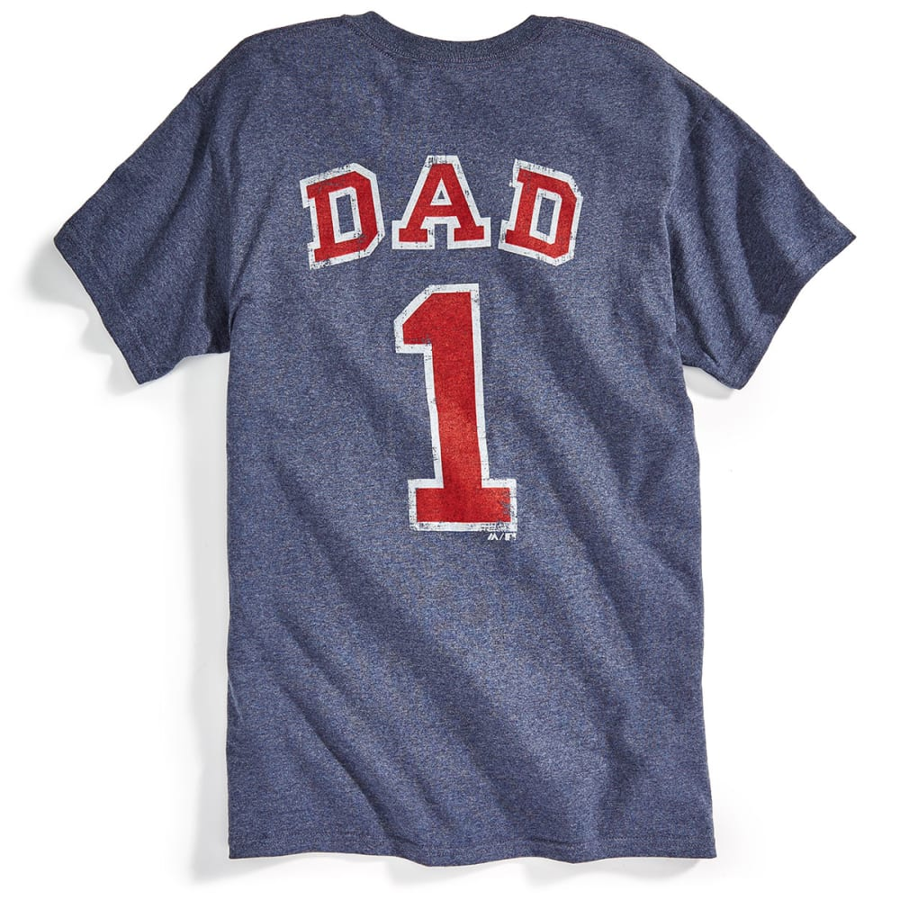 BOSTON RED SOX #1 Dad Short-Sleeve Tee - RED SOX