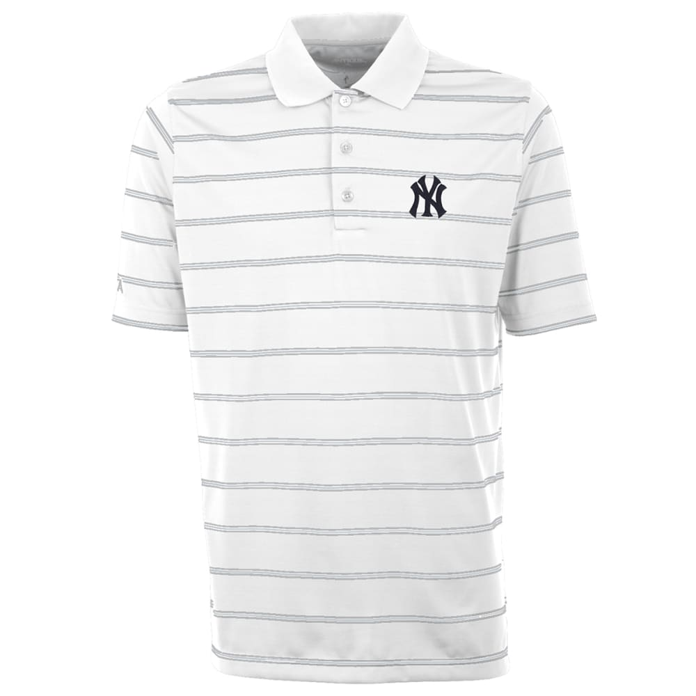 NEW YORK YANKEES Men's Deluxe Striped Polo Shirt - YANKEES