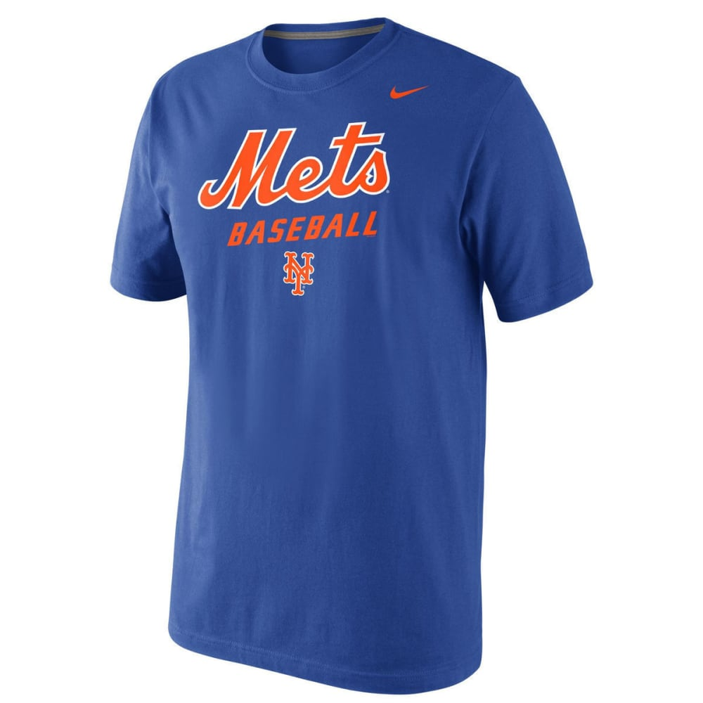 NIKE Men's New York Mets Practice Short-Sleeve Tee - ROYAL