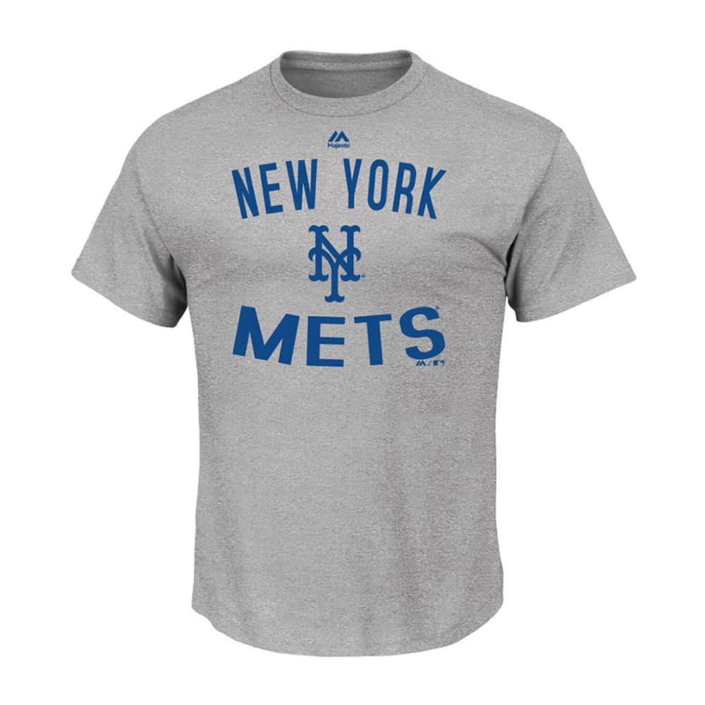 NEW YORK METS Men's Authentic Edge Tee - GREY