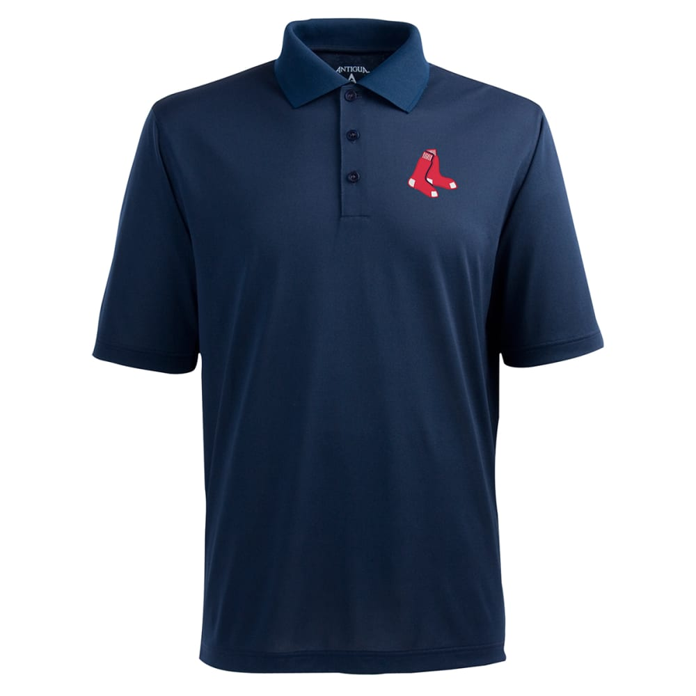 ANTIGUA Men's Boston Red Sox Pique Polo  - NAVY