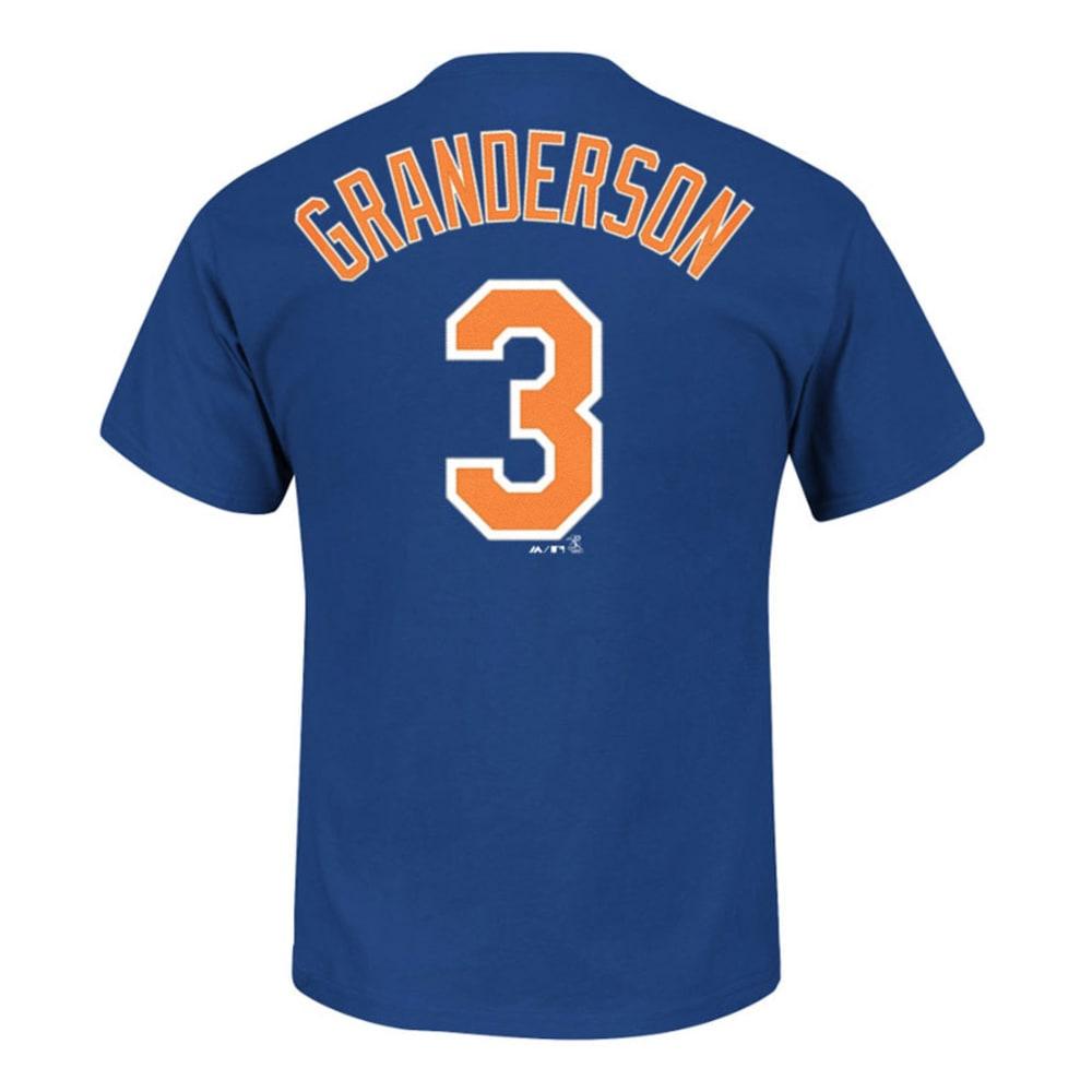 NEW YORK METS Men's Granderson #3 Name and Number Tee - NAVY
