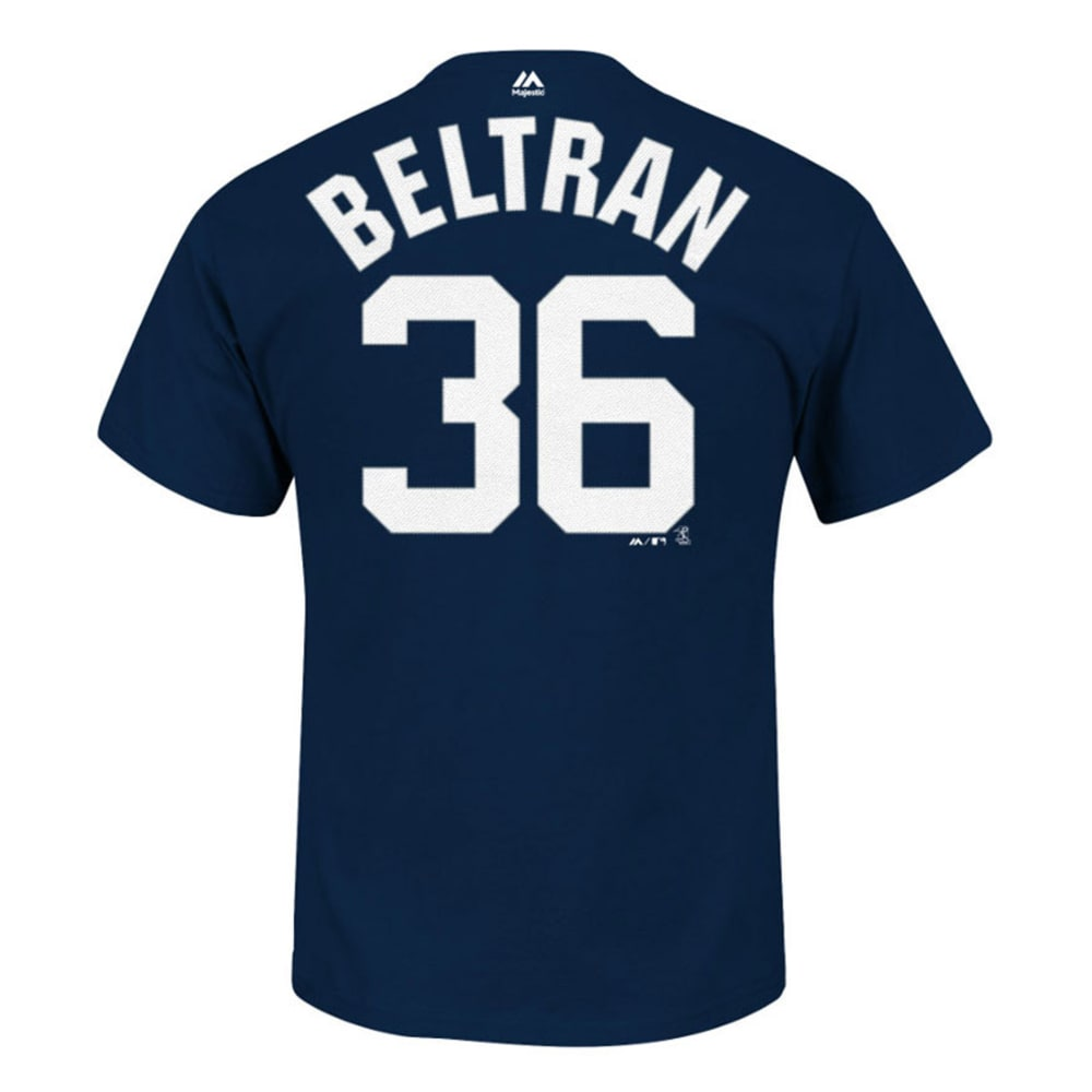 MAJESTIC ATHLETIC Men's New York Yankees Beltran #36 Name and Number Tee - NAVY