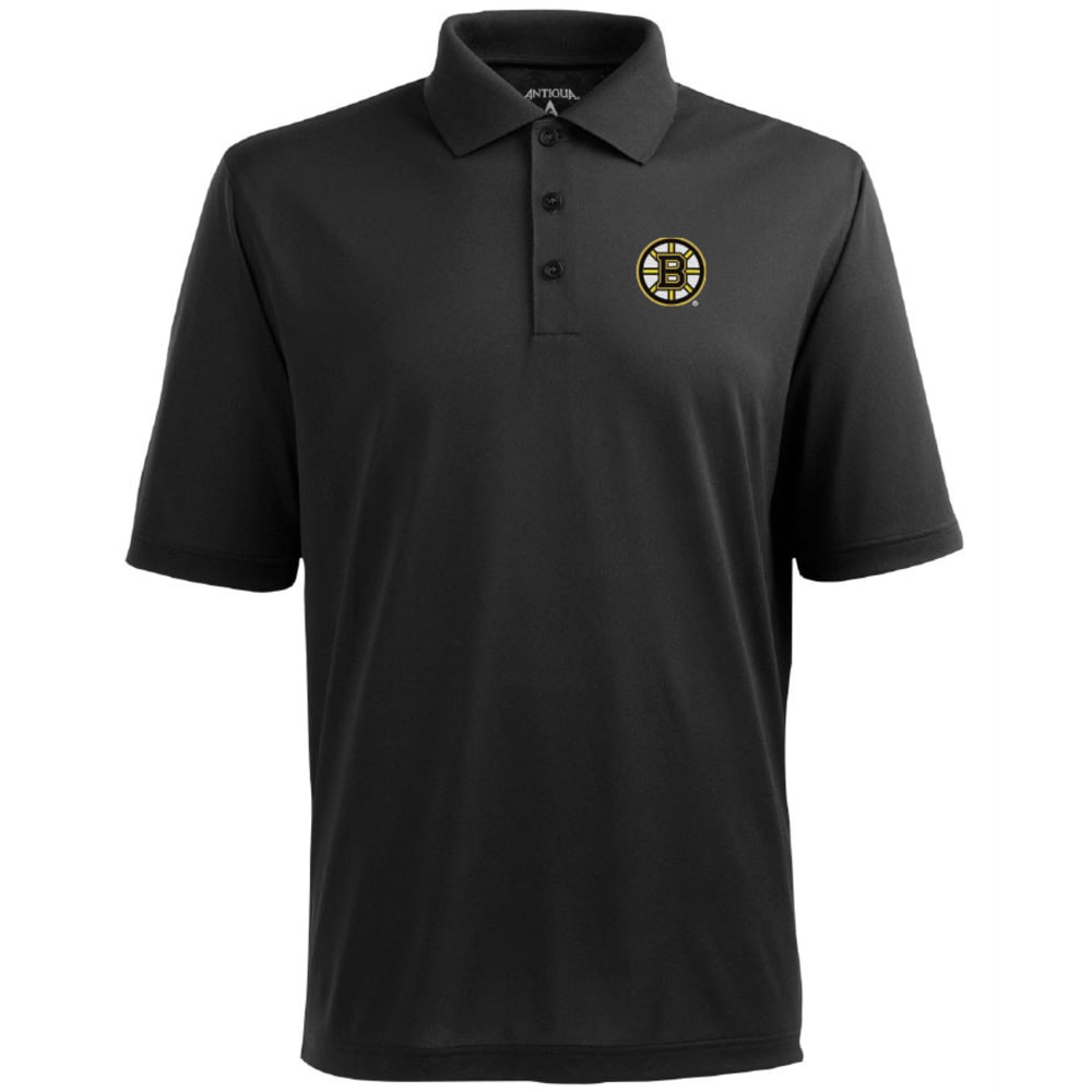 BOSTON BRUINS Men's Polo - BLACK