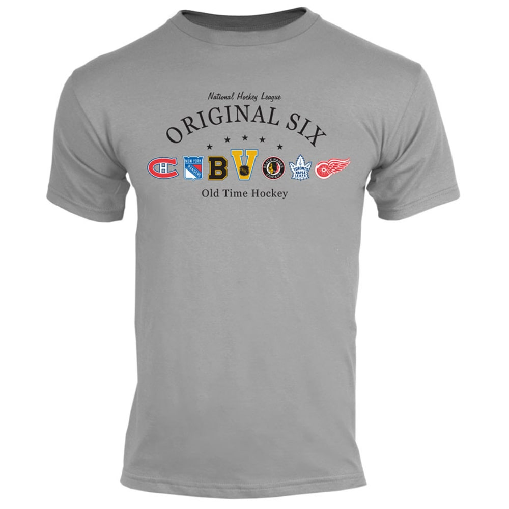 Old Time Hockey Men's Original Six Short sleeve tee - GREY