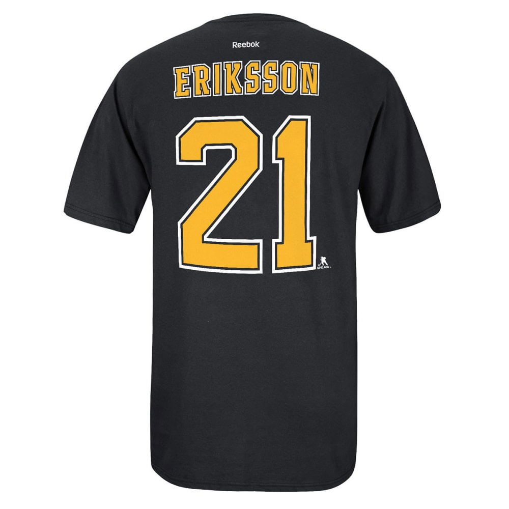 REEBOK Men's Loui Eriksson #21 Boston Bruins Tee - BLACK