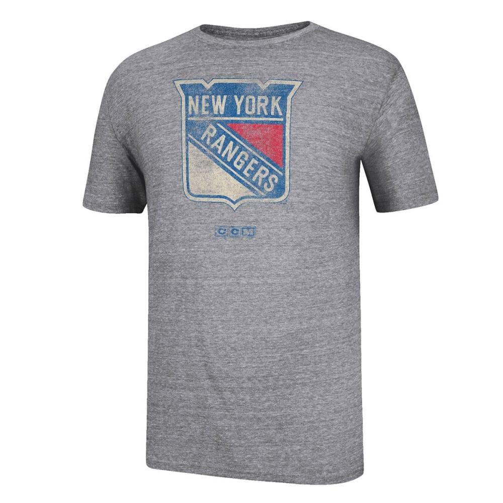 NEW YORK RANGERS Bigger Logo Short-Sleeve Tee - HGRY