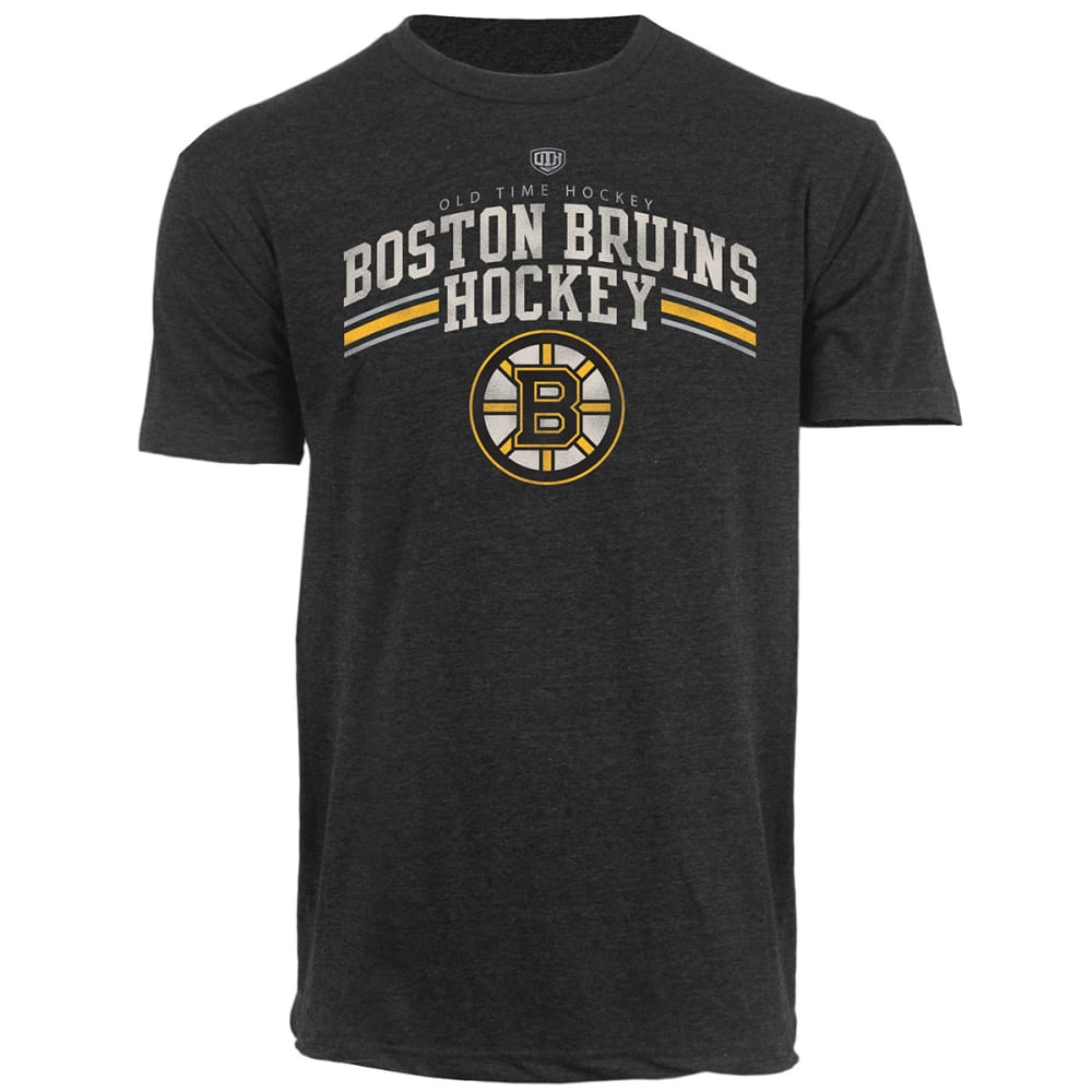 BOSTON BRUINS Men's Durst Heathered T-Shirt - CHARCOAL/HEATHER