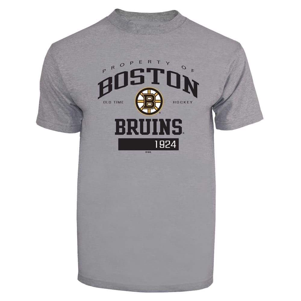 BOSTON BRUINS Men's Gilbert Short-Sleeve Tee - GREY