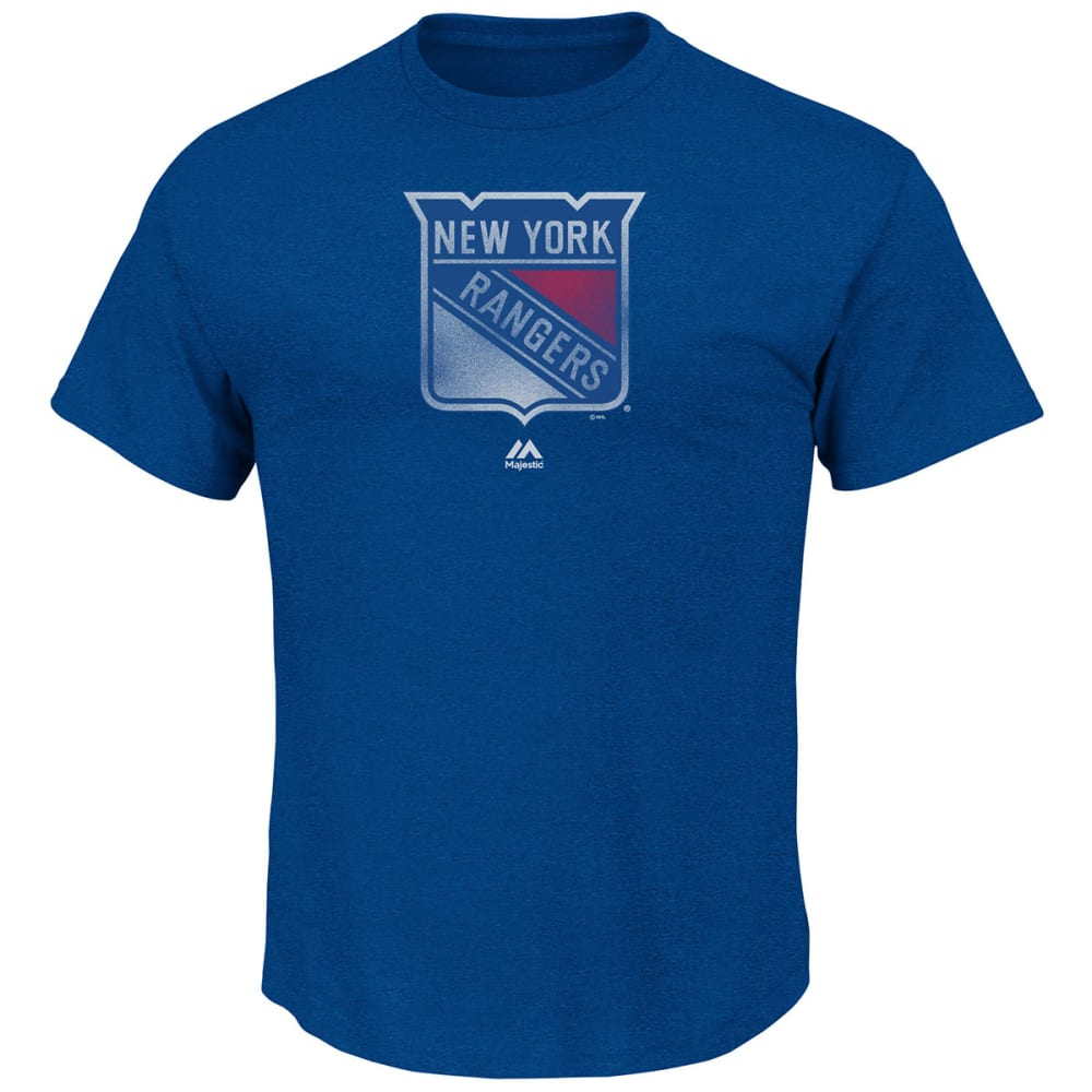 NEW YORK RANGERS Men's Raise the Level Heat Tee Shirt - DRAGONFLY