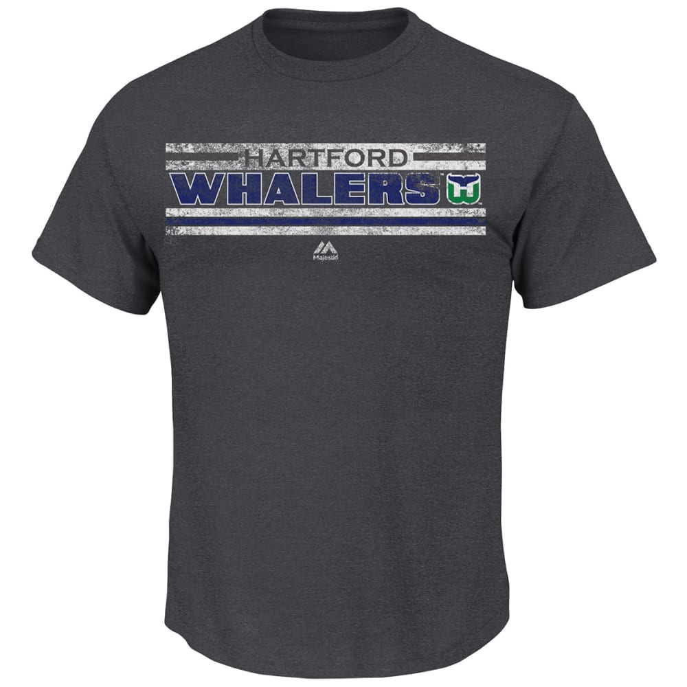 HARTFORD WHALERS Men's Vintage All Hustle History Tee - MULTI WATERCOLOR