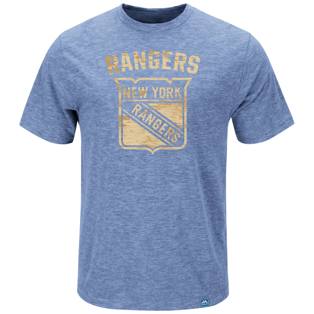NEW YORK RANGERS Men's Hours and Hours Tee - BLUE
