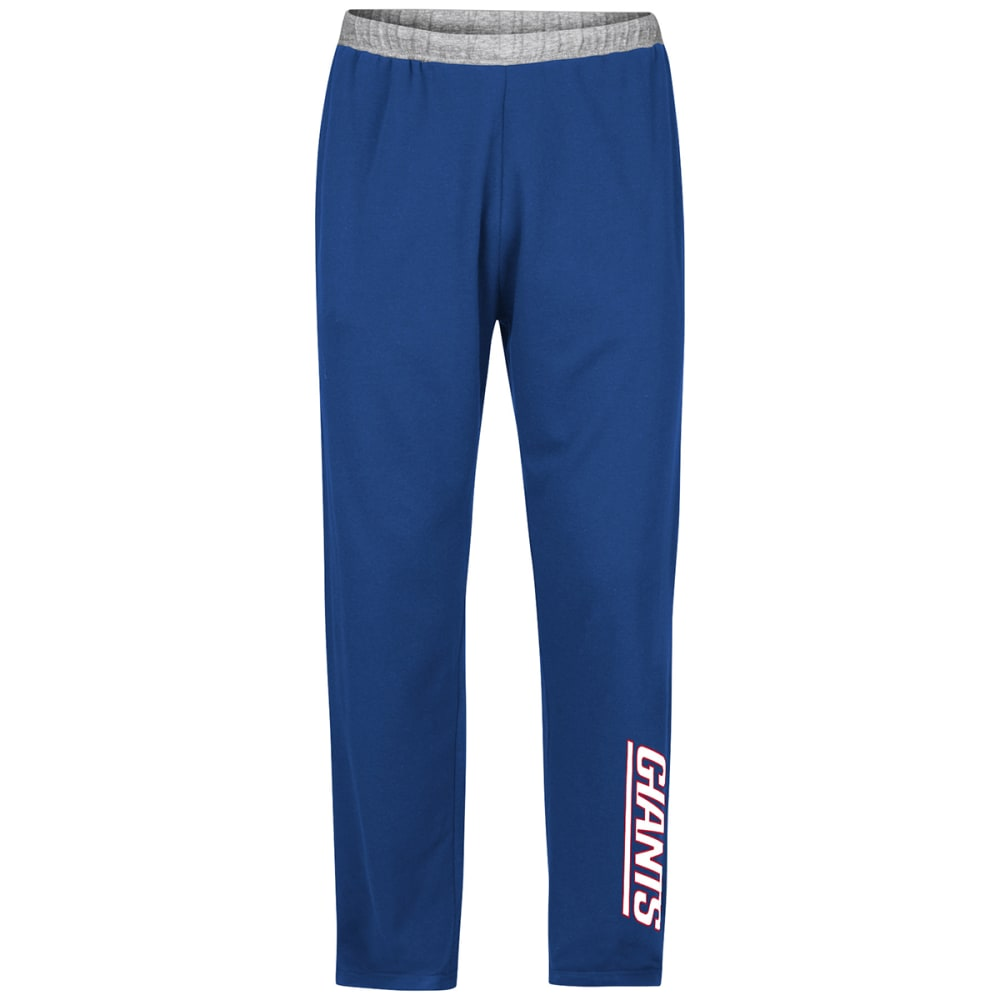 NEW YORK GIANTS Men's Swift Motion Fleece Sweatpants - DARK CRIMSON