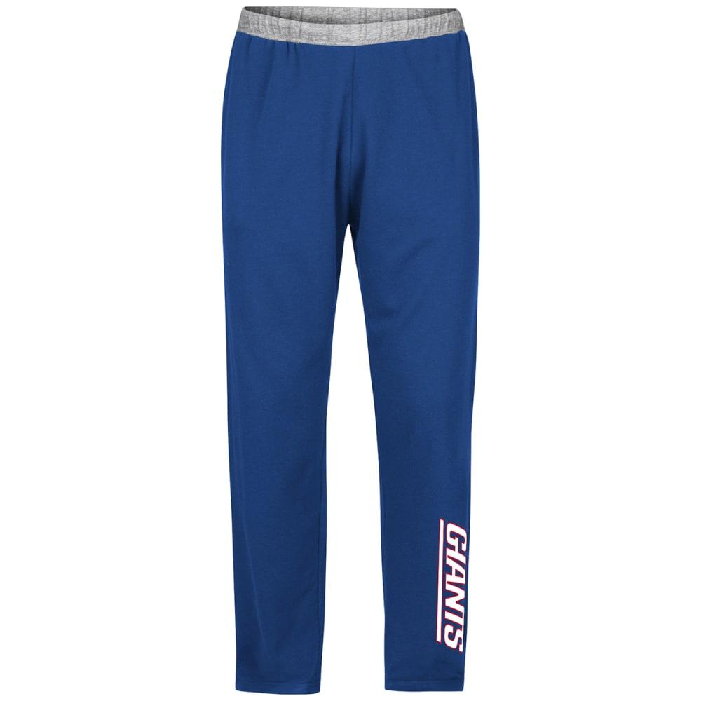 NEW YORK GIANTS Men's Swift Motion Fleece Sweatpants - DARK CRIMSON