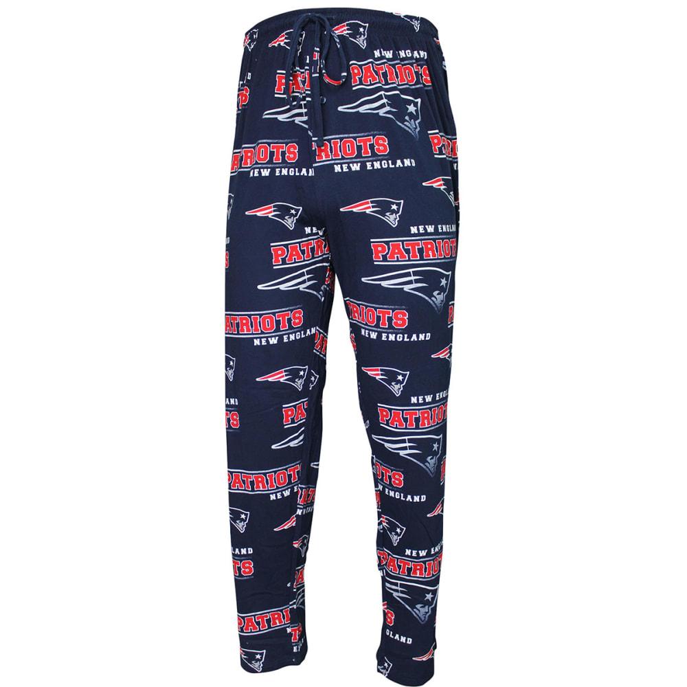 NEW ENGLAND PATRIOTS Men's Fusion Printed Lounge Pants - NAVY