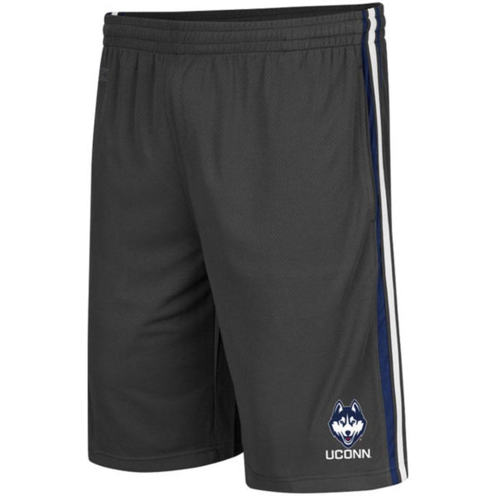 UCONN HUSKIES Men's Vapor Shorts - GRAY