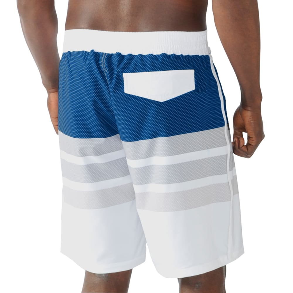 NEW YORK METS Men's Center Field Swim Trunks - METS