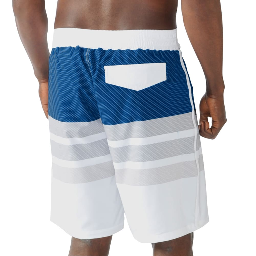 NEW YORK RANGERS Men's Center Field Swim Trunks - NAVY
