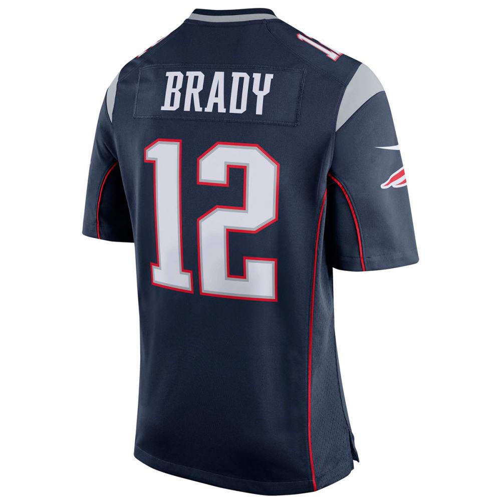 NEW ENGLAND PATRIOTS Men's Nike Brady Game Jersey - NAVY