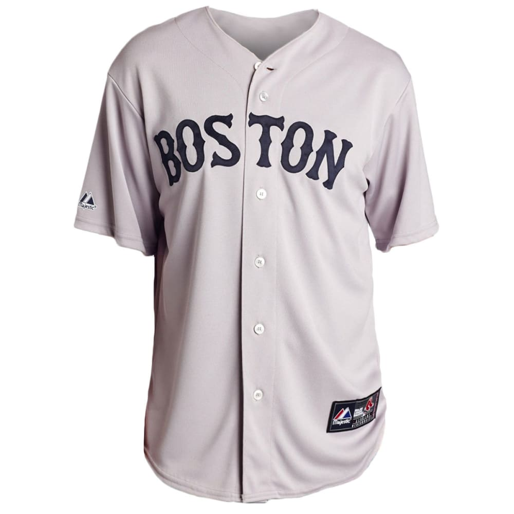 BOSTON RED SOX Dustin Pedroia #15 Replica Road Jersey - GREY