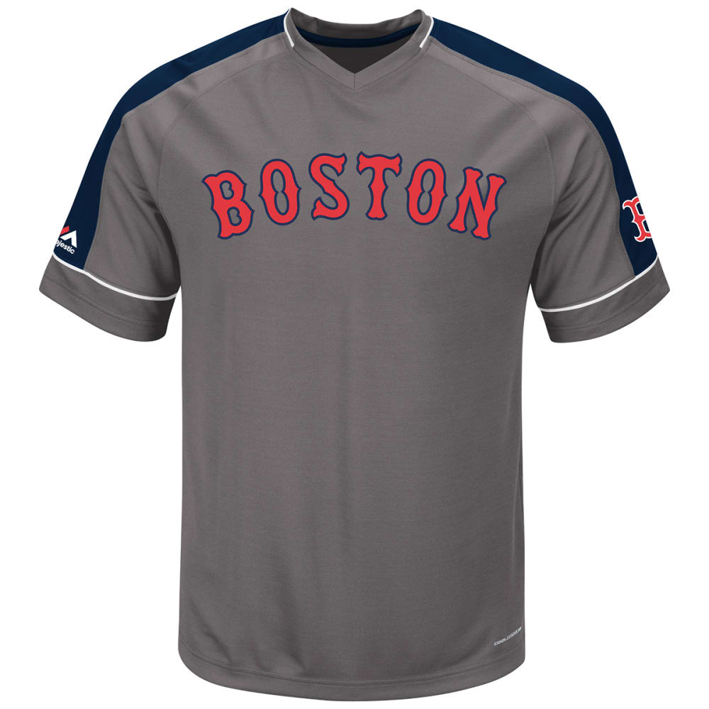 BOSTON RED SOX Dominant Campaign V-Neck Tee - ASSORTED
