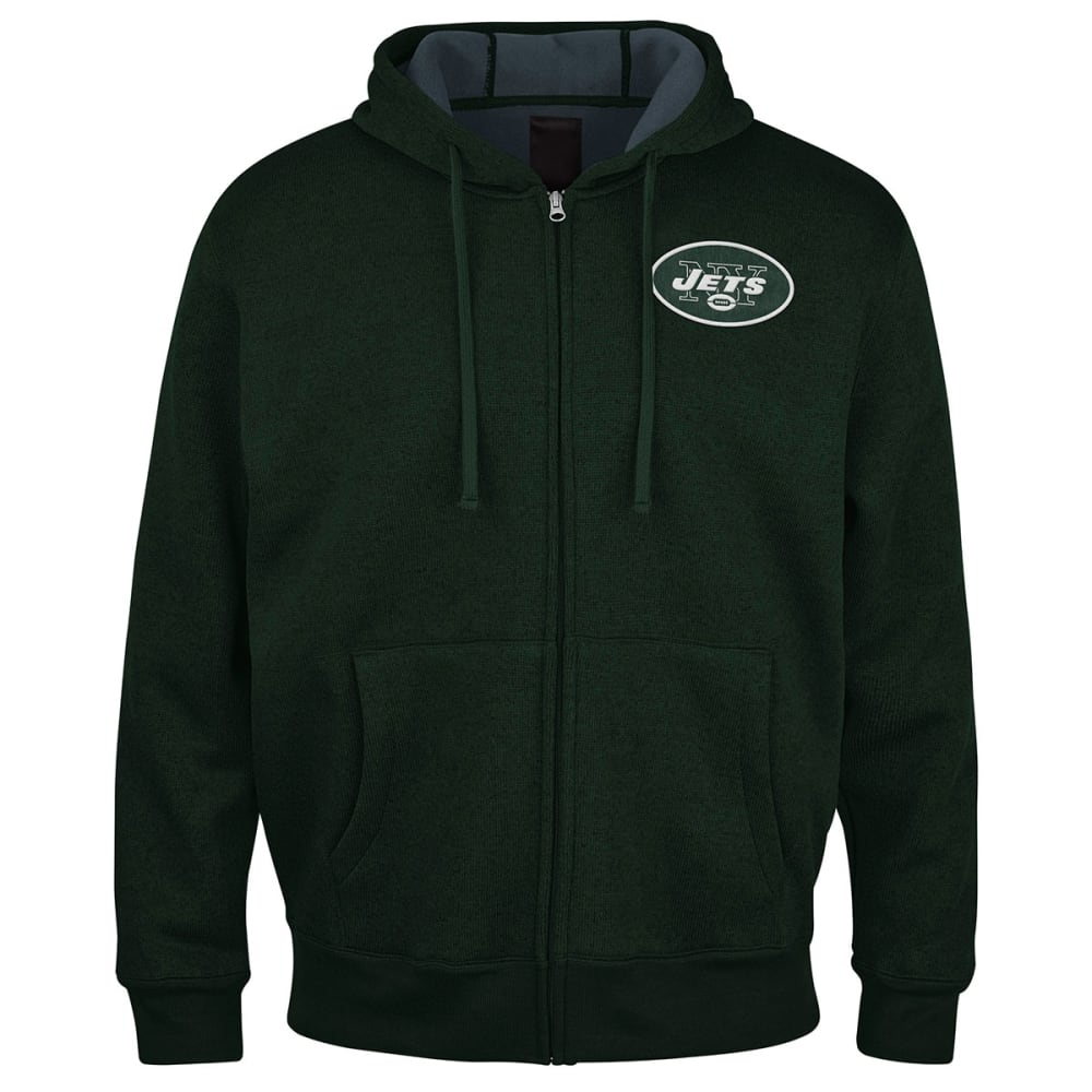 NEW YORK JETS Men's Primary Receiver Hoodie - GREEN