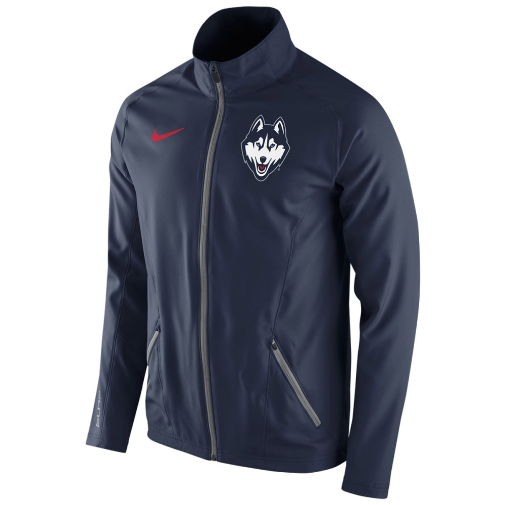 UCONN Men's Nike Huskies Blue Elite Game Jacket - NAVY