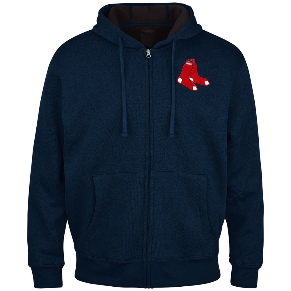 THE BOSTON RED SOX Men's Primary Receiver Full Zip Jacket - ASSORTED