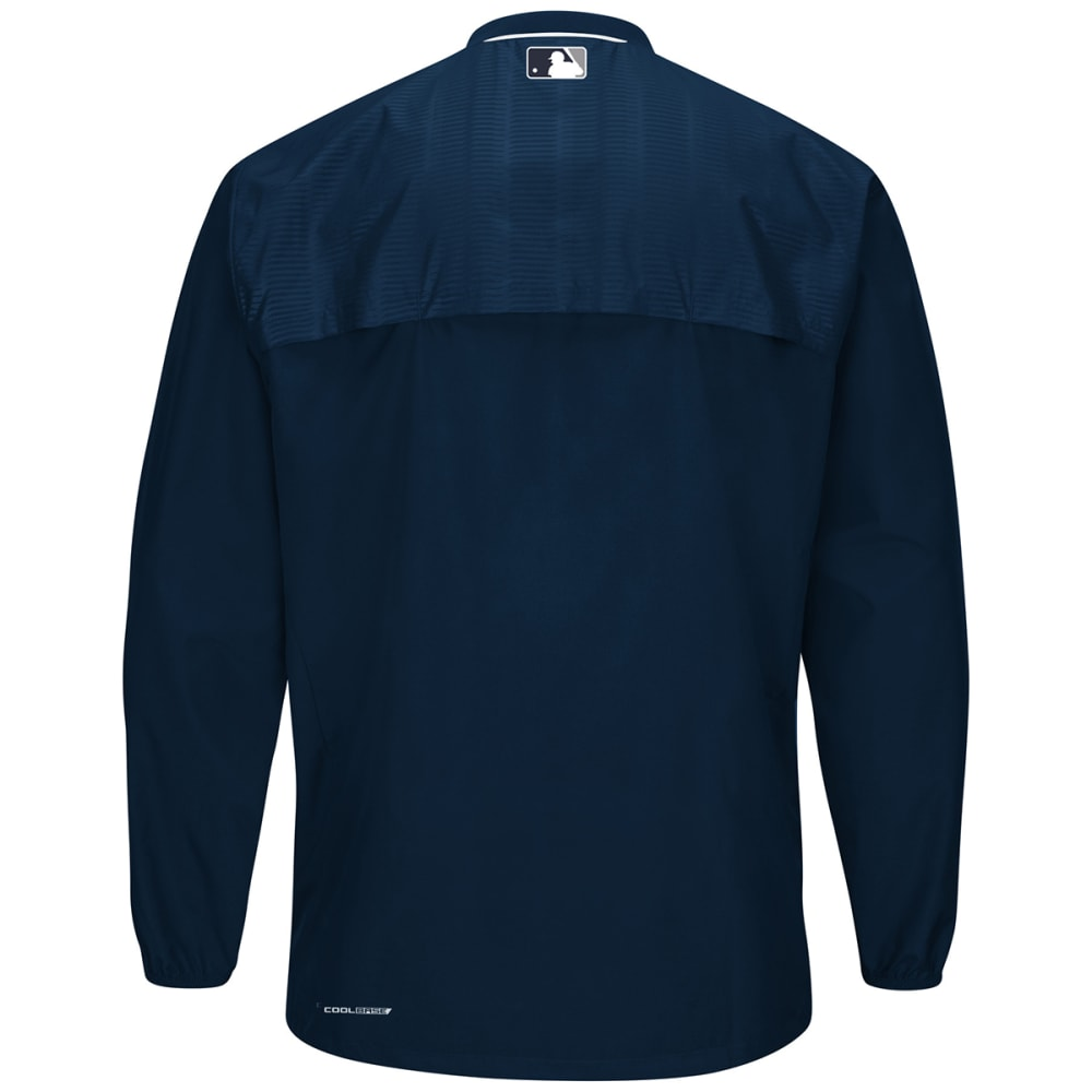 NEW YORK YANKEES Men's Cool Base On-Field Long Sleeve Training Jacket - NAVY