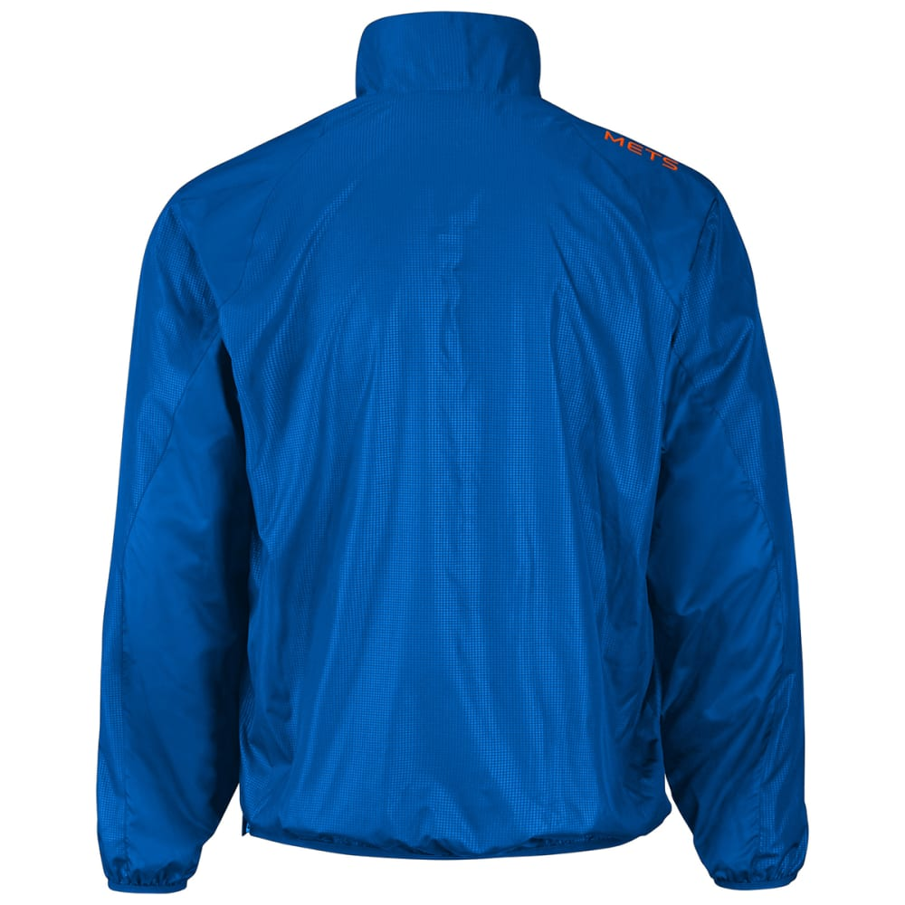 NEW YORK METS Men's Double Play Half-Zip Jacket - ROYAL BLUE-METS