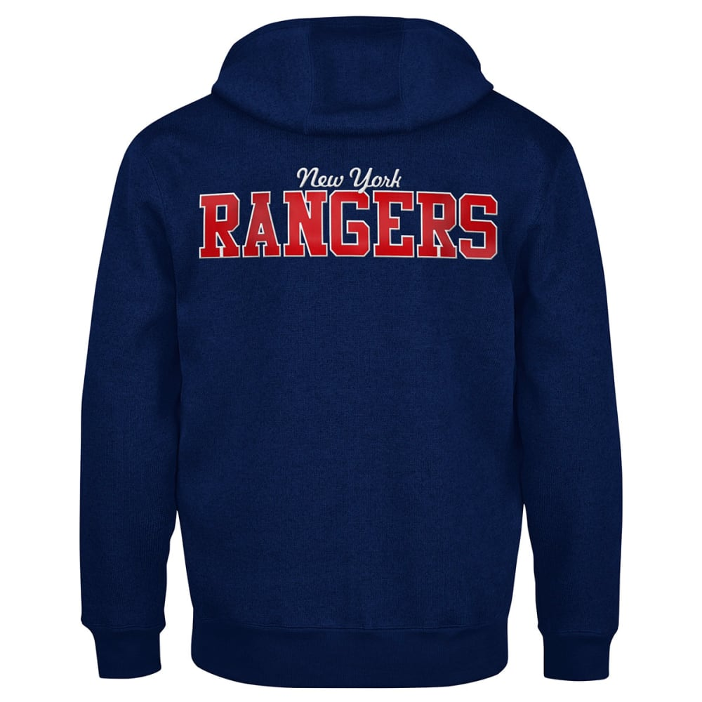NEW YORK RANGERS Men's Primary Receiver Hoodie - ROYAL BLUE
